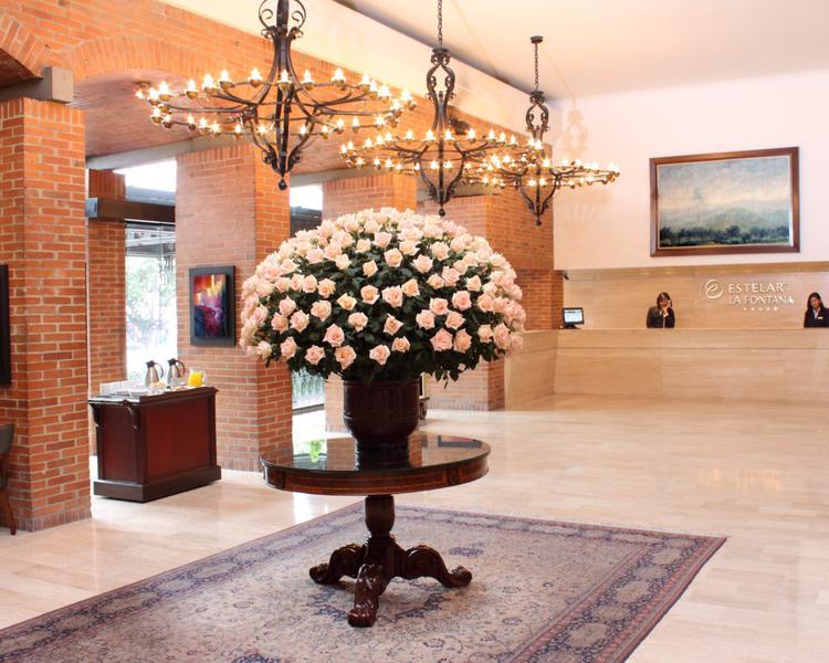 RECEPTION ESTELAR La Fontana - Apartments Bogota Hotel Bogota